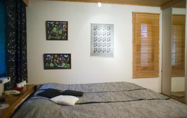 BoligBytte til,Finland,Tervakoski,Main bedroom (waterbed)