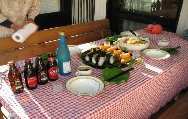 BoligBytte til,Finland,Tervakoski,Dinner à la Japanese