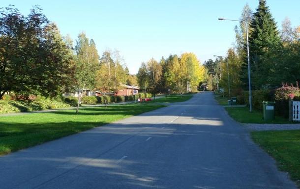 BoligBytte til,Finland,Tervakoski,Our home street