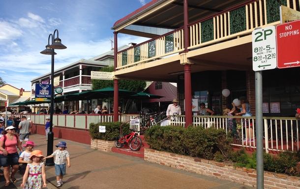 Home exchange in,Australia,ALSTONVILLE,Main Street, Alstonville