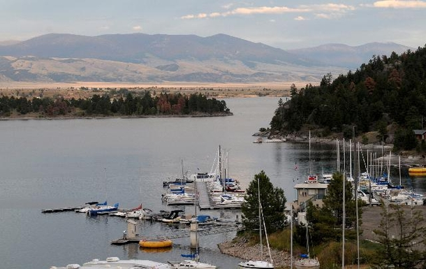 Home exchange in,United States,Helena,Yacht Basin Marina near cabin