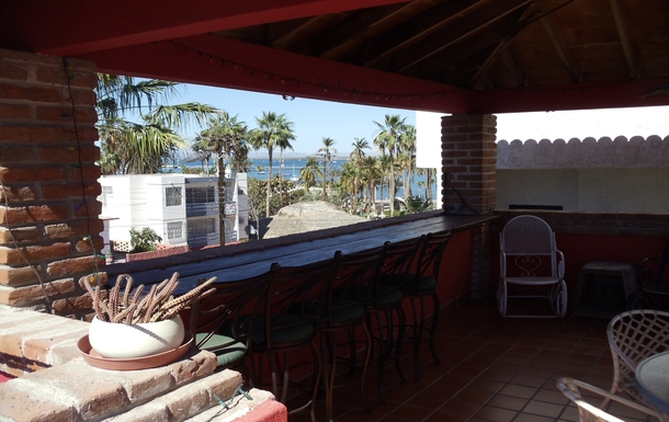 BoligBytte til,Mexico,La Paz,New bar with a view of the sea, upper terrace