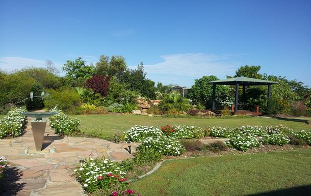 Home exchange in,Australia,Branyan Bundaberg,Garden