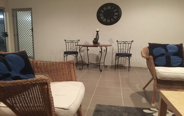 Home exchange in,Australia,Tamborine Mountain,Downstairs dining/living