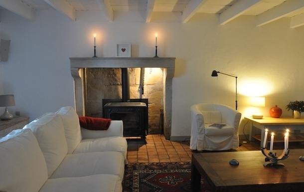 BoligBytte til,France,Cognac, 73k, N,Sitting room with woodburner