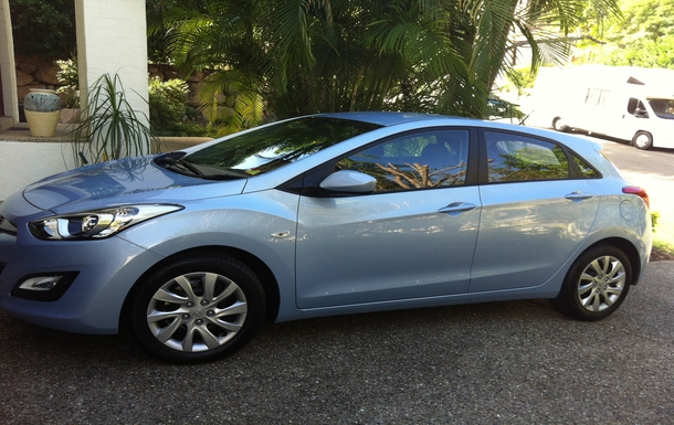 Home exchange in,Australia,BRISBANE,Hyundai i30 - 2014 - automatic