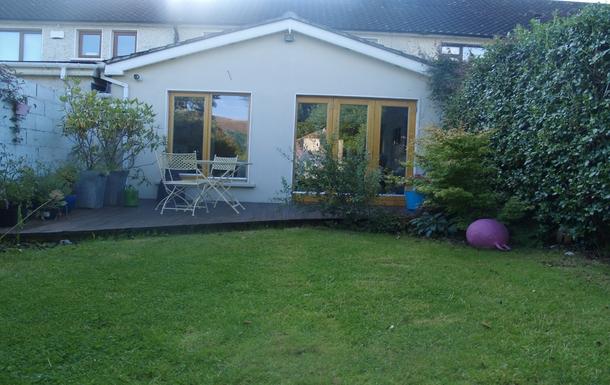 Back garden - decking
