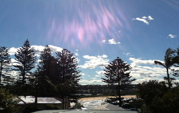 Home exchange in,Australia,DEE WHY,A winter day from our balcony.