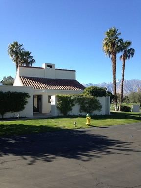 Our vacation home in Rancho Mirage on Golf Course