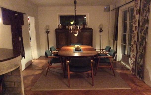 BoligBytte til,Sweden,Stockholm, 10k, N,Dining room with extendable table.