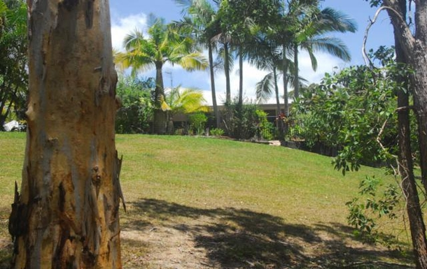 Home exchange in,Australia,TEWANTIN,House from the reserve at its back