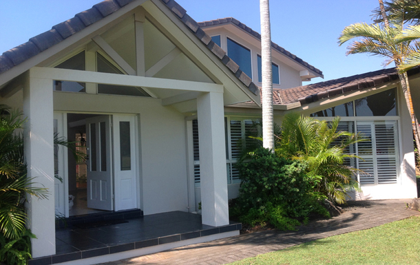 Home exchange in,Australia,EAST BALLINA,Front View of home
