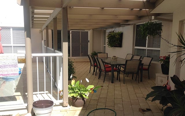Home exchange in,Australia,EAST BALLINA,Patio