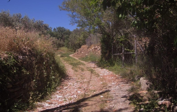 BoligBytte til,Spain,Near Fondón,Goat path 150 meter from village to our premises.