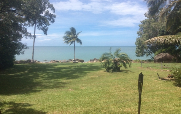 Home exchange in,Australia,East Trinity,Our front yard