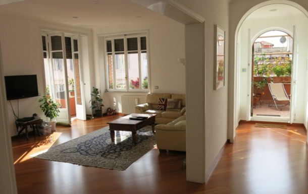 Home exchange in Italy,Roma, Roma,3-bedroom apartment in central Rome,Home Exchange & House Swap Listing Image