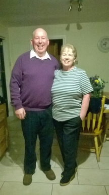 Margaret and Padraig