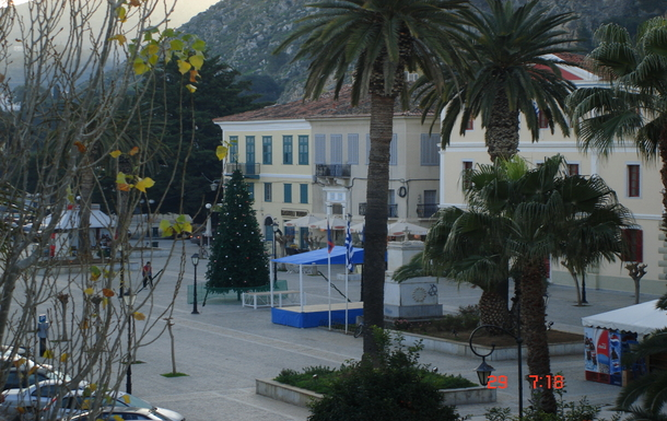 BoligBytte til,Greece,Nafplion,view from living room balcony