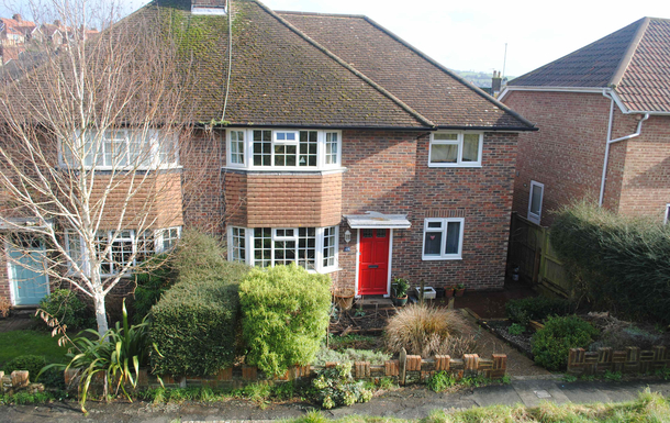 Kodinvaihdon maa Britannia,Lewes, East Sussex,A semi-detached family home, 1 hr from London,Home Exchange Listing Image