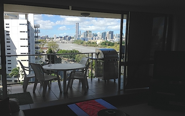 Home exchange in,Australia,Brisbane,View from Apartment