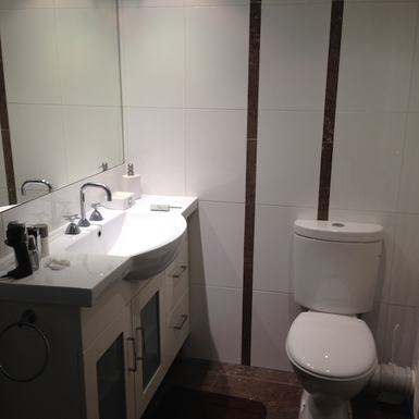 Home exchange in,Australia,Brisbane,Second Bathroom with Shower