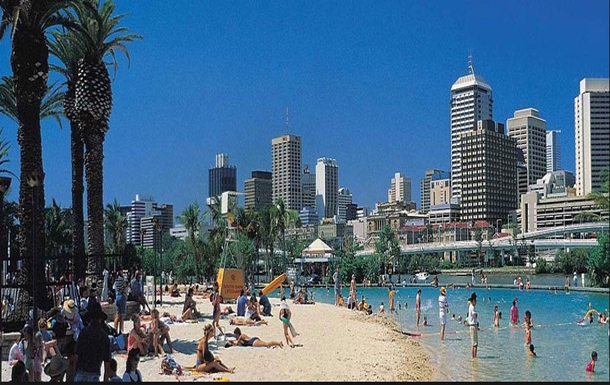 Home exchange in,Australia,Brisbane,City Beach at Southbank - 10 minutes by CityCat
