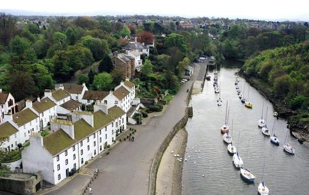 BoligBytte til,United Kingdom,Edinburgh,Walk along the river to Cramond village