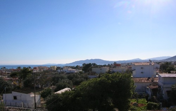 BoligBytte til,Greece,Artemida, Athens,,View from the roof terrace.