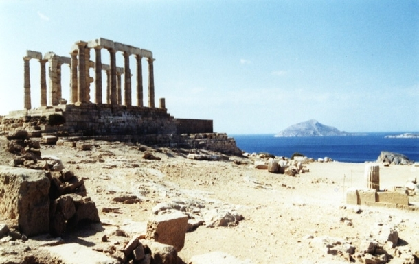BoligBytte til,Greece,Artemida, Athens,,Posiedon Temple at Cape Sounion