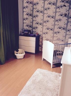 BoligBytte til,Netherlands,Utrecht,Nola's room (with bed for children 0-3 years)