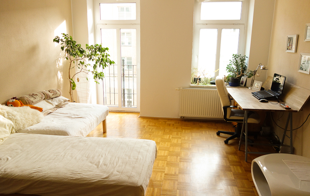 Home exchange in Germany,Leipzig, Sachsen,child-friendly appartment in cultural centre,Home Exchange  Holiday Listing Image