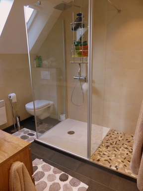 BoligBytte til,Belgium,Villers la Ville,shower in ensuite bathroom