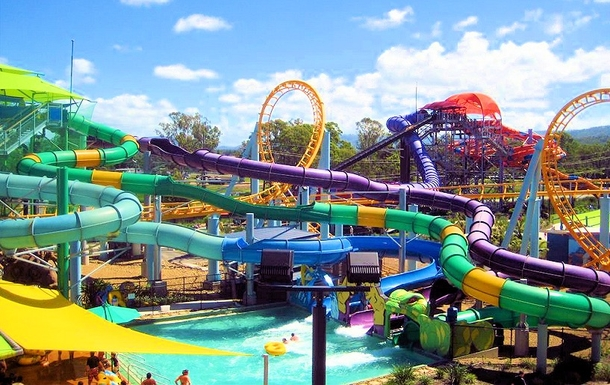 Home exchange in,Australia,Brisbane,WhiteWater World at Dreamland Theme Park