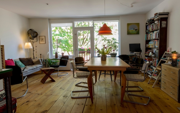 Home exchange in Netherlands,Amsterdam, Noord Holland,Adam Oost Maisonnette,Home Exchange  Holiday Listing Image
