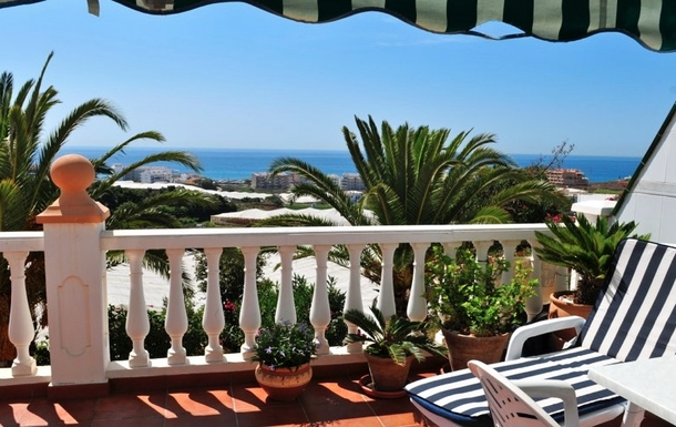 Home exchange in Spain,Torrox Park / Malaga, Comunidad de Madrid,Sunny home with a beautiful view to the sea,Home Exchange & House Swap Listing Image