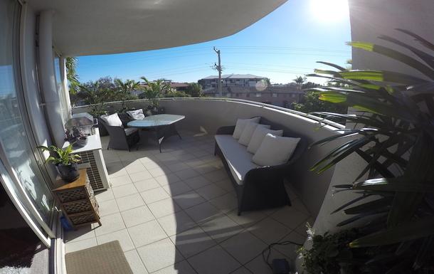 Home exchange in,Australia,Redcliffe,Main Balcony