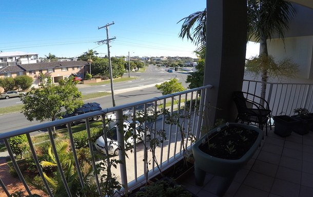 Home exchange in,Australia,Redcliffe,2nd Balcony