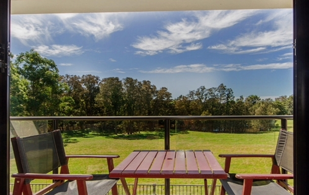 Home exchange in,Australia,Merrimac,The view from the main bedroom upstairs