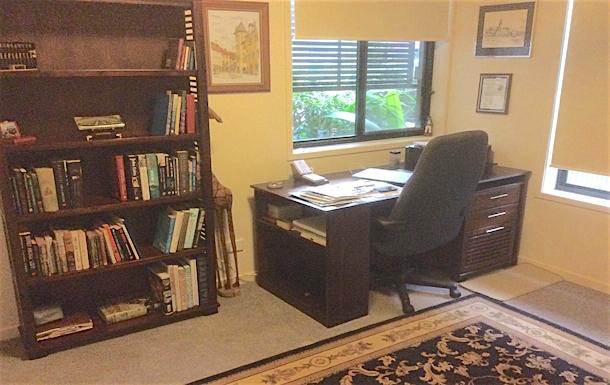 Home exchange in,Australia,Merrimac,Downstairs study
