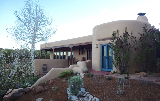 BoligBytte til USA,Santa Fe, NM,Adobe Home with views, 5 min. drive to Plaza,Boligbytte billeder