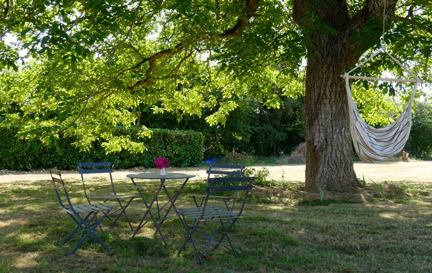 BoligBytte til,France,Cognac, 73k, N,A quiet nook in the shade of the walnut tree