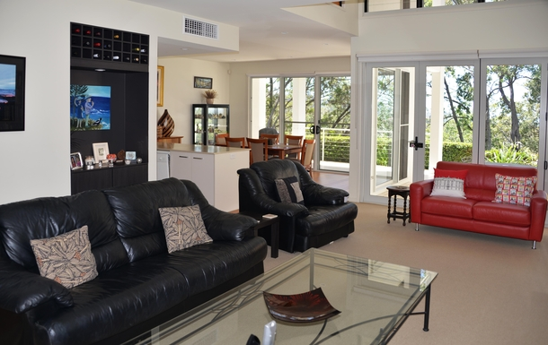 Home exchange in,Australia,COFFS HARBOUR,Living room