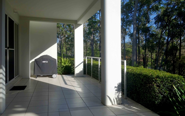 Home exchange in,Australia,COFFS HARBOUR,BBQ on front patio deck