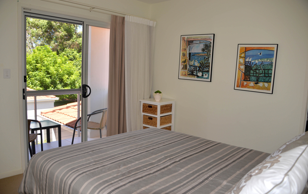 Home exchange in,Australia,COFFS HARBOUR,Second bedroom has its own balcony