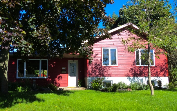 Notre maison en été