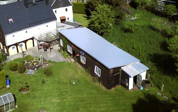 Rückseite Haus und Scheune