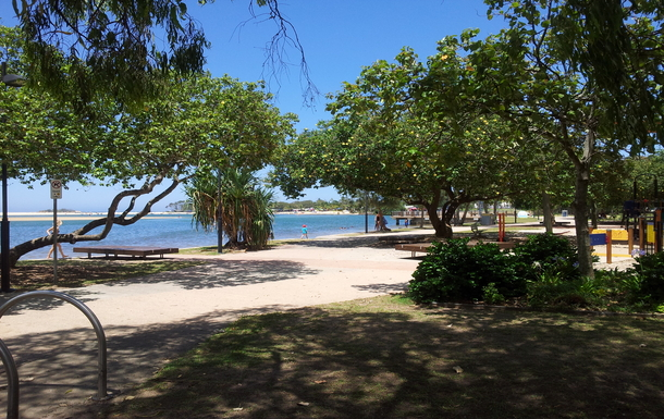 Home exchange in,Australia,MAROOCHYDORE,Maroochy river and Cotton Tree park