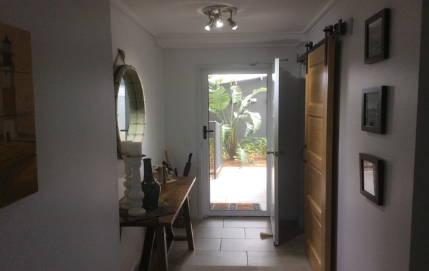 Home exchange in,Australia,Birtinya,Entrance to our ground floor apartment