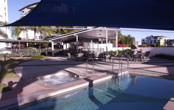 Home exchange in,Australia,Birtinya,Hot Spa beside the Lap Pool