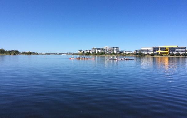 Home exchange in,Australia,Birtinya,Regatta Apartments from the lakeside walk